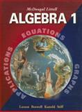 Algebra 1, Ron Larson and Laurie Boswell, 0618250182