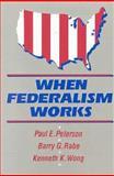 When Federalism Works 9780815770190