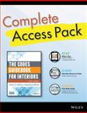 The Codes Guidebook for Interiors, Sixth Edition Complete Access Pack with Wiley e-Text, Study Guide 6E, and Interactive Resource Center Access Card, Harmon, Sharon Koomen and Kennon, Katherine E., 1118990196