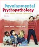 Developmental Psychopathology, Wenar, Charles and Kerig, Patricia, 0072820195