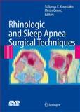 Rhinologic and Sleep Apnea Surgical Techniques 9783540340195