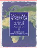 College Algebra : A View of the World Around Us, Wells, Dave and Schmitt, Lynn, 0135710197