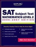 Kaplan SAT: Mathematics Level 2, Kaplan, 0743280199