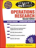 Schaum's Outline of Operations Research, Bronson, Richard and Naadimuthu, Govindasami, 0070080208
