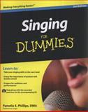 Singing for Dummies, Pamelia S. Phillips, 0470640200