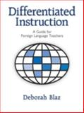 Differentiated Instruction, Deborah Blaz, 1596670207