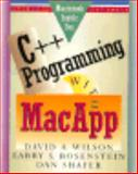 C++ Programming with Macapp, Wilson, David A., 0201570203