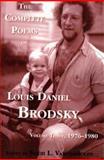 The Complete Poems of Louis Daniel Brodsky, Louis Daniel Brodsky, 156809020X