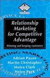 Relationship Marketing for Competitive Advantage 9780750620208