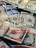 Simple Ways to Protect Yourself from Lawsuits, Mark Warda, 1572480203