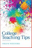 College Teaching Tips, Whitford, Fred, 0205940218