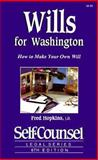 Wills Guide for Washington, Fred Hopkins, 1551800217