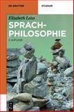 Sprachphilosophie, Leiss, Elisabeth, 311028023X