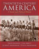 Twentieth-Century America, Goldfield, David and Abbott, Carl E., 0205920233