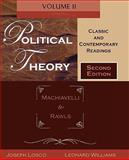 Political Theory : Classic and Contemporary Readings - Machiavelli to Rawls, , 0195330234