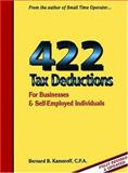 422 Tax Deductions for Businesses and Self-Employed Individuals, Bernard B. Kamoroff, 0917510232