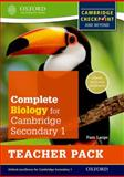 Complete Biology for Cambridge Secondary 1 Teacher Pack, Pam Large, 0198390238