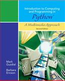 Introduction to Computing and Programming in Python, a Multimedia Approach, Guzdial, Mark and Ericson, Barbara, 0136060234