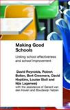 Making Good Schools : Linking School Effectiveness and Improvement, Creemers, Bert and Bollendorf, Robert, 0415130247