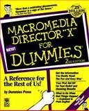 Macromedia Director X for Dummies, Steinhauer, Lauren, 0764500244