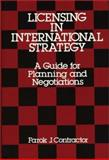 Licensing in International Strategy, Farok J. Contractor, 0899300243