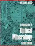 Introduction to Optical Mineralogy, Nesse, William D., 0195060245