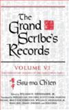 The Grand Scribe's Records : The Hereditary Houses of Pre-Han China, Ch'ien, Ssu-Ma, 025334025X