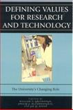 Defining Values for Research and Technology, , 0742550257