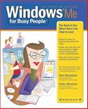 Windows ME for Busy People, Ron Mansfield and Peter Weverka, 0072130253