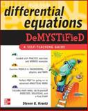 Differential Equations Demystified, Krantz, Steven G., 0071440259