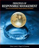 Principles of Responsible Management : Glocal Sustainability, Responsibility, and Ethics, Conaway, Roger and Laasch, Oliver, 1285080262