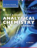 General and Quantitative Analytical Chemistry Laboratory I, Abrams, Jerry and Abrams, Binyomin, 0757570267