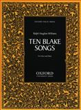 Ten Blake Songs, , 0193850265