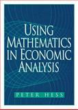 Using Mathematics in Economic Analysis