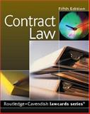 Contract Law, Routledge, 184568026X