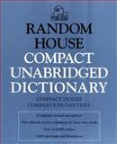 Random House Compact Unabridged Dictionary, Dictionary, 0679450262