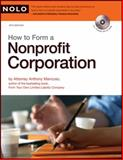 How to Form a Nonprofit Corporation, Anthony Mancuso, 1413310265