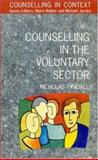 Counselling in the Voluntary Sector, Tyndall, Nicholas, 0335190278