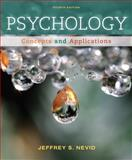 Cengage Advantage Books: Psychology : Concepts and Applications, Nevid, Jeffrey S., 1133310273