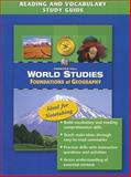World Studies: Foundations of Geography : Reading and Vocabulary Study Guide, Jacobs, Heidi Hayes, 0131280279