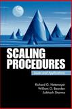 Scaling Procedures : Issues and Applications, Netemeyer, Richard G. and Bearden, William O., 0761920277
