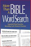 More Than a Bible Word Search, Patricia Mitchell, 098958027X