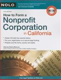 How to Form a Nonprofit Corporation in California, Anthony Mancuso, 1413310273