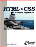HTML and CSS Concise Reference, Jeanine Downey, Christopher Traynor, 0981840272