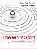 The Write Start : Sentences to Paragraphs with Professional and Student Readings, Feng-Checkett, Gayle and Checkett, Lawrence, 1111350272