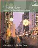 Impressions Book 2, Benz, Cheryl and Benz, Stephen, 0618410279