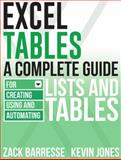 Excel Tables, Zack Barresse and Kevin Jones, 161547028X