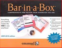 Bar in A Box 2009, Emanuel, Steven, 0735590281