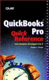 Quickbook 99 Quick Reference, O'Brien, Stephen J., 0789720299
