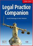 Legal Practice Companion 2006-7 : Twelfth Edition, Montagu, Gerald and Weston, Mark, 1846410290